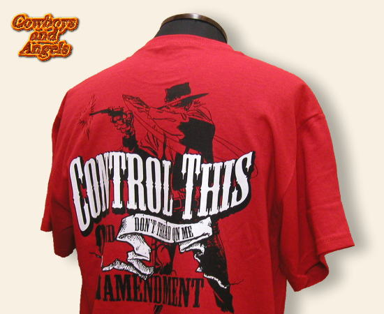 COWBOY AND ANGELS Tシャツ Control This レッド