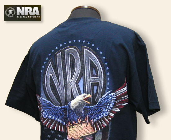 NRA Tシャツ Some Things Are Not Negotiable ネイビー
